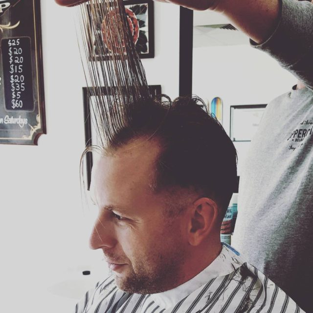 When the barber needs a barber! barberlife