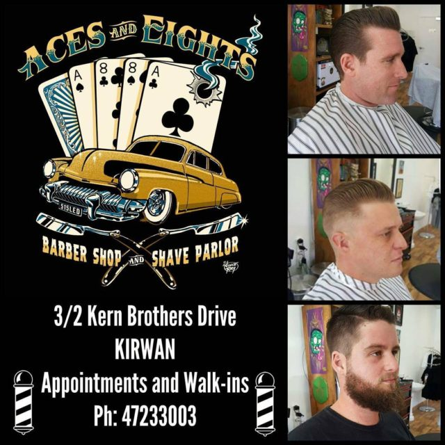 Aces and Eights Barber Shop and Shave Parlor acesandeightsbarbershop townsvillebarbershellip